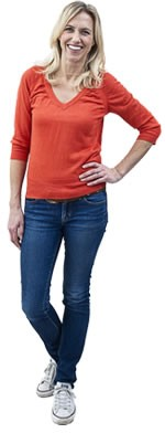 150-casual-female-in-red